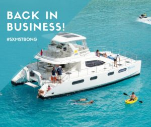 Private Yacht Charter SXM - Nirvana - Power Catamaran 47
